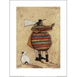 Sam Toft Dancing Cheek To Cheeky - plakat premium