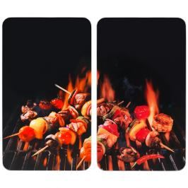 Cover universal 2pcs BARBECUE SPITS